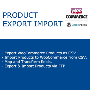 Import Export for WooCommerce Product Image