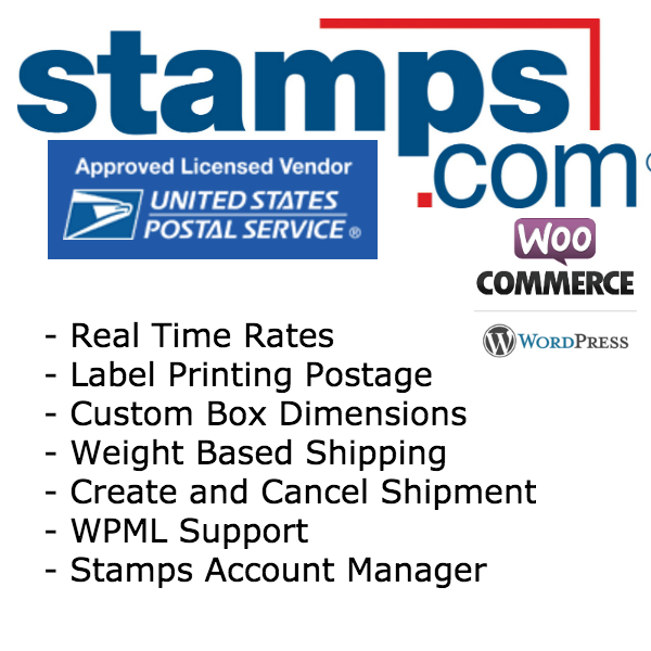 Stamps WooCommerce Product Image