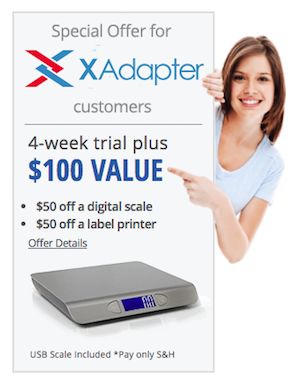 Stamps.com XAdapter Offer