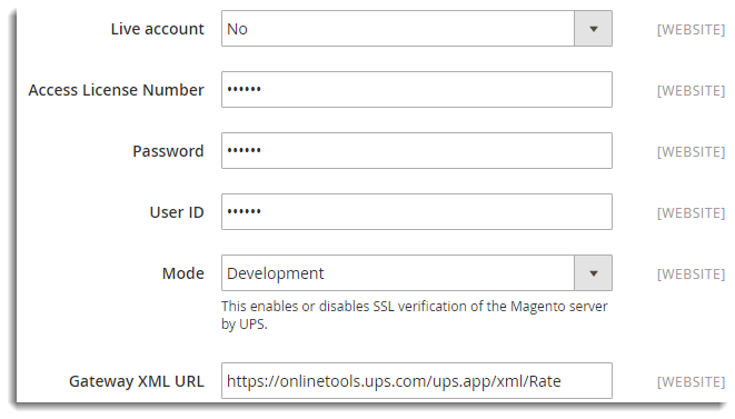 Setting Up Magento 2 0 Default UPS Shipping Extension - XAdapter