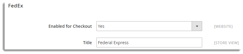 Setting Up Magento 2 0 Default FedEx Shipping Extension - XAdapter