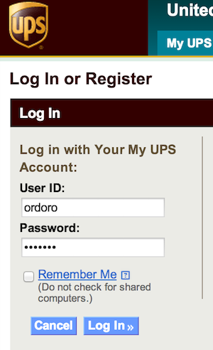 how to find ups shipping account number