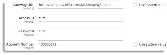 Setting Up Magento 2 0 Default DHL Shipping Extension - XAdapter