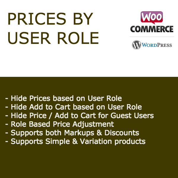 Prices by User Role for WooCommerce Image