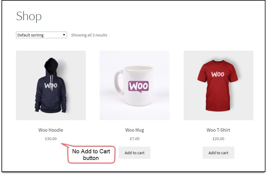 WooCommerce Role Based Remove Add to Cart button