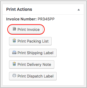How To Print PDF Invoices Using Print Invoice Packing Slip - How to print invoice