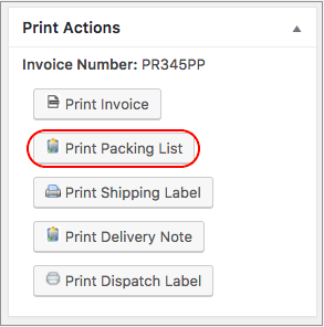Click Print Packing List. If You Have Selected Disable Option Under Preview  Before Printing, The HTML Preview Of The Packing List Appears.
