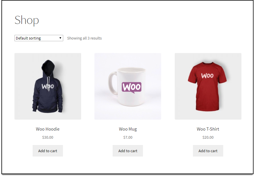 WooCommerce Wholesale Pricing | Available products in store