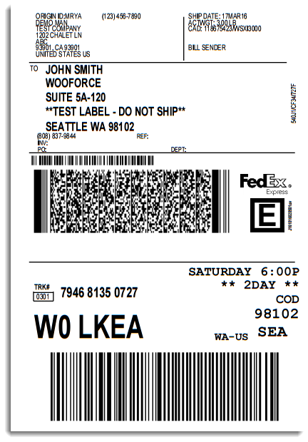 How To Send A Shipping Label To Someone Setting Up Woocommerce Fedex Shipping Plugin Xadapter