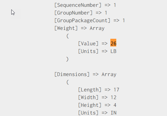 Request for pack into boxes with weight and dimension with 4 products