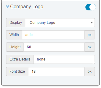 Company Logo: When You Enable This Field, The Invoice Contains The Company  Logo Or The Company Name. You Can Customize The Size Of The Logo, Font  Size, ...  Invoice.com