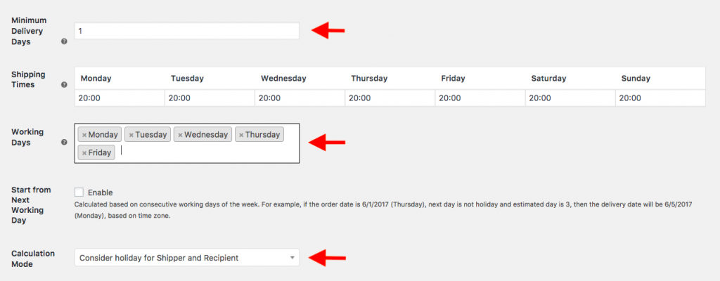 how to add estimated delivery date on woocommerce