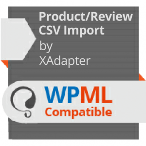 WPML Compatibility - Product Import Export Plugin for