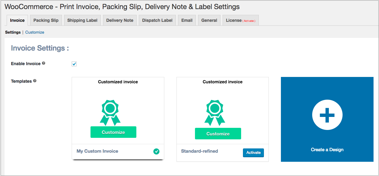 Using The Code Editor For Template Customization PDF Invoices - Packing labels template