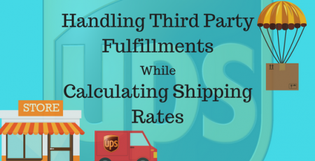 Handle Third Party fulfillment