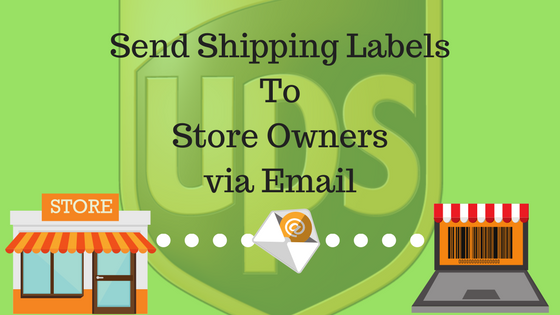 Send shipping label to your customer via email using for How to send a shipping label