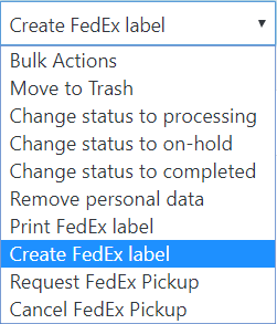 FedEx Bulk Operations