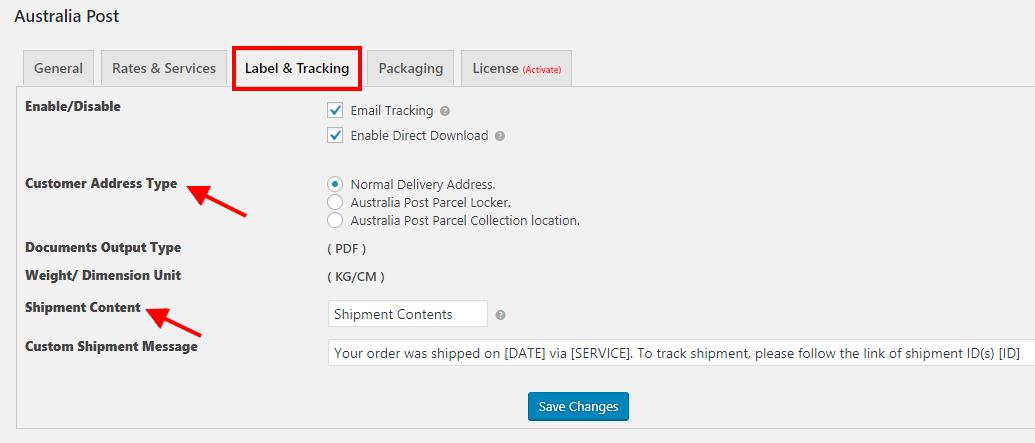 XAdapter Australia Post Shipping Plugin
