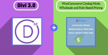 Divi with WooCommerce Catalog Mode, Wholesale & Role-Based Pricing Plugin